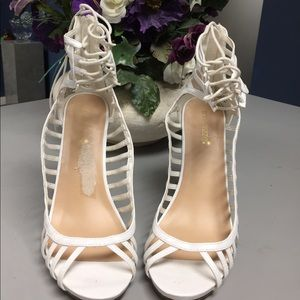 White High Heels from ShoesDazzle